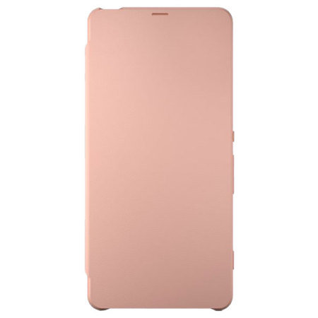 Official Sony Xperia XA Style Cover Flip Case - Rose Gold