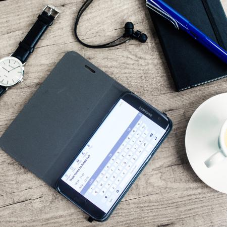 Moleskine Classic Samsung Galaxy S7 Edge Wallet Case - Black