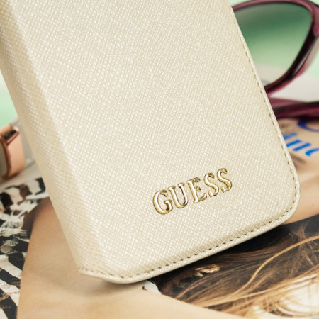 Guess Leather-Style Samsung Galaxy S7 Edge Wallet Case