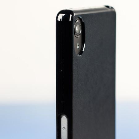 camara take really olixar flexishield sony xperia x gel case solid black 4 your