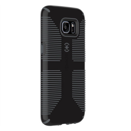 Speck CandyShell Grip Samsung Galaxy S7 Edge Case - Black / Grey