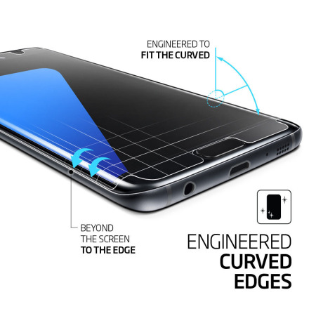 spigen curved crystal screen protector for samsung galaxy s7 edge products for Mobile