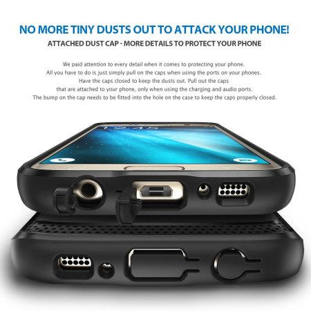 Ringke Onyx Samsung Galaxy S7 Tough Case - Black