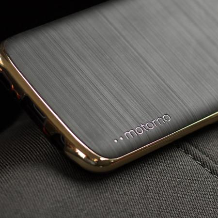 740b47d71e2 Funda Samsung Galaxy S7 Motomo Ino Slim Line - Negra / Dorada