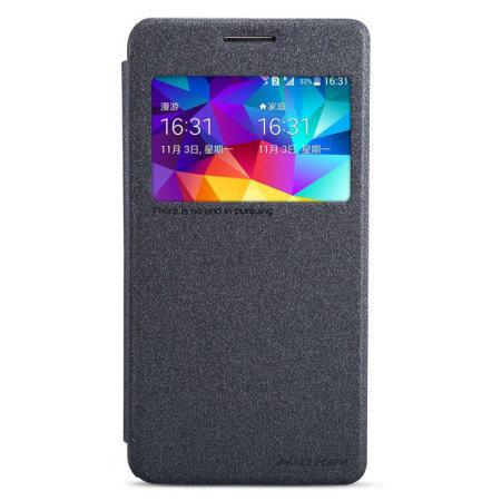 Nillkin Sparkle View Window Samsung Galaxy Grand Prime Case - Black