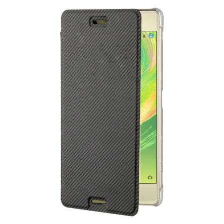 Roxfit Sony Xperia X Premium Slim Book Case - Black