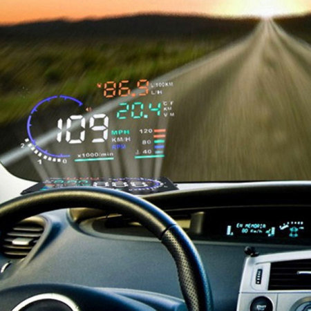 In Car Heads Up Display HUD Reflective Film - Car display