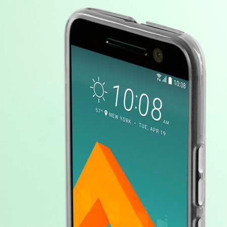 Olixar FlexiShield HTC 10 Gel Case - Frost White