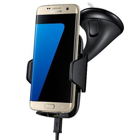samsung galaxy s7 edge qi wireless charging car holder. Black Bedroom Furniture Sets. Home Design Ideas