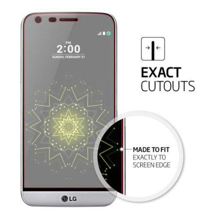 spigen film crystal lg g5 screen protector (3 pack)