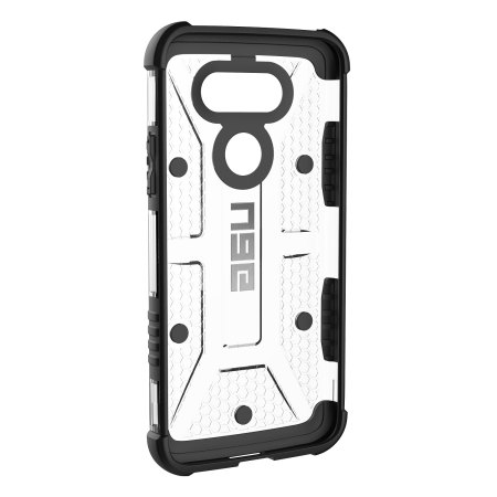 UAG LG G5 Protective Case - Ice / Black