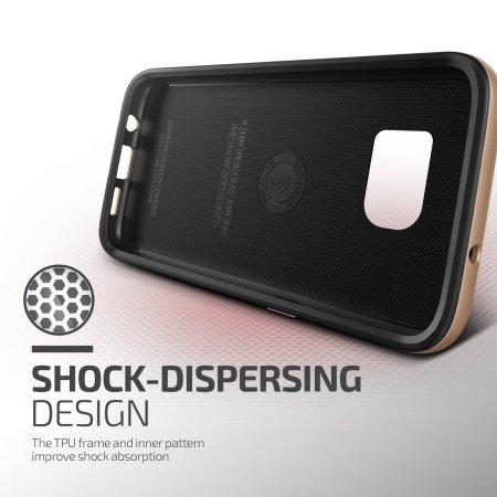 Verus Design High Pro Shield Samsung Galaxy S7 Edge Case - Shine Gold