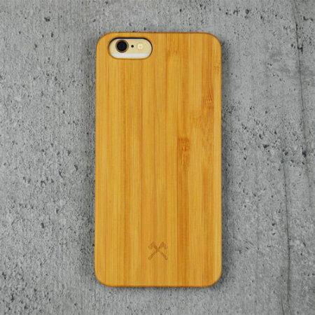 Coque iPhone 6S / 6 Woodcessories EcoCase – Bambou & Bleu marine