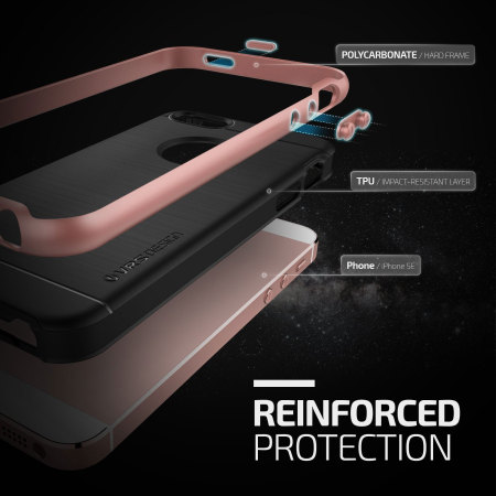 check out 5d82d 89dba VRS Design High Pro Shield iPhone SE Case - Rose Gold