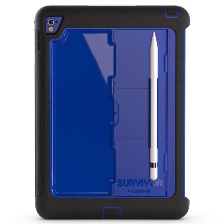 Griffin Survivor Slim iPad Pro 9.7 inch Tough Case - Blue / Black
