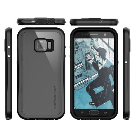 ghostek atomic 2 0 samsung galaxy s7 waterproof tough case silver