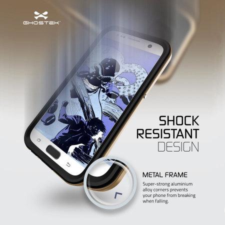 Ghostek Atomic 2.0 Samsung Galaxy S7 Waterproof Tough Case - Gold