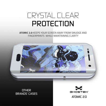 Ghostek Atomic 2.0 Samsung Galaxy S7 Edge Waterproof Case - Silver