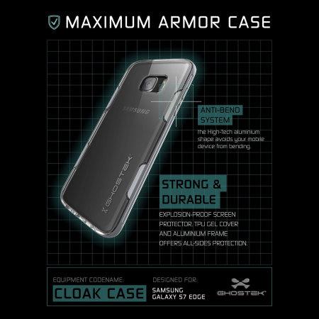 BlackBerry ghostek cloak samsung galaxy s7 tough case clear silver thanks for