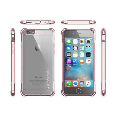 Ghostek Covert iPhone 6S / 6 Protective Case - Clear / Rose Gold