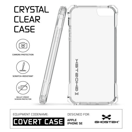Ghostek Covert iPhone SE Protective Case - Clear