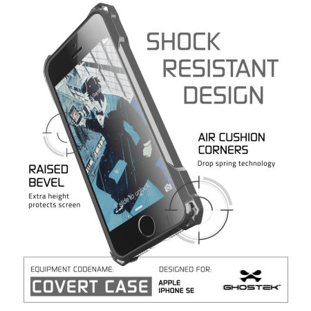 Ghostek Covert iPhone SE Protective Case - Black