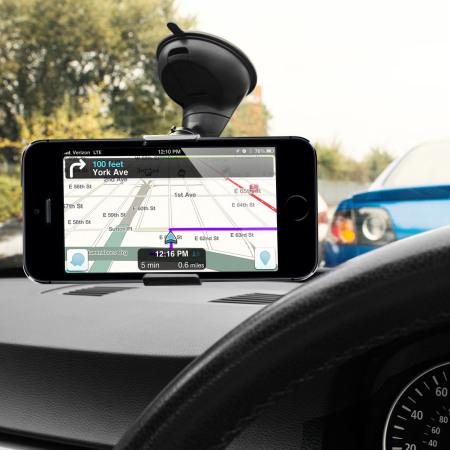pack chargeur support voiture iphone se olixar drivetime. Black Bedroom Furniture Sets. Home Design Ideas