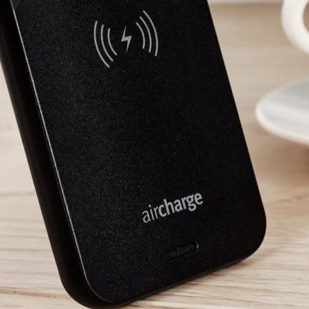 aircharge MFi Qi iPhone SE Draadloze Laadcase - Zwart