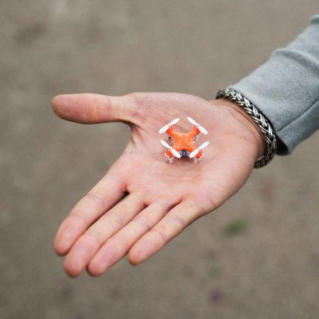 Buzzbee nano drone the worlds smallest quadcopter reviews