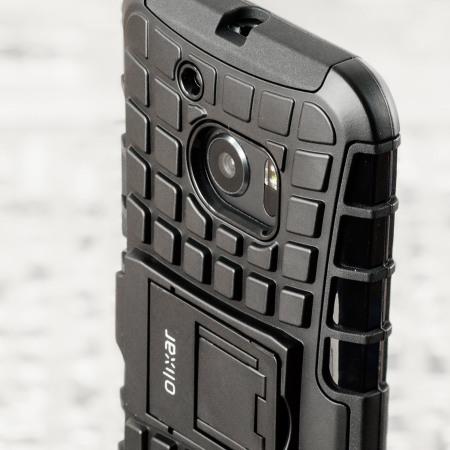 Olixar ArmourDillo HTC 10 Protective Case - Black
