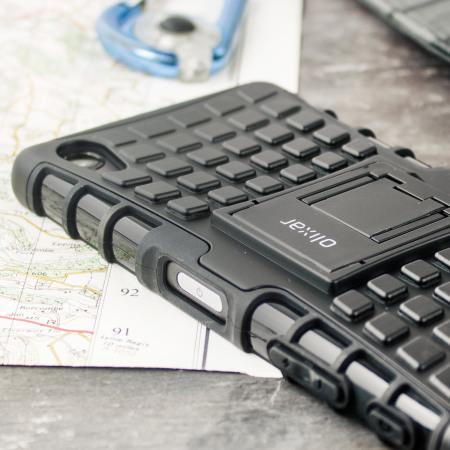 Olixar ArmourDillo Sony Xperia X Protective Case - Black