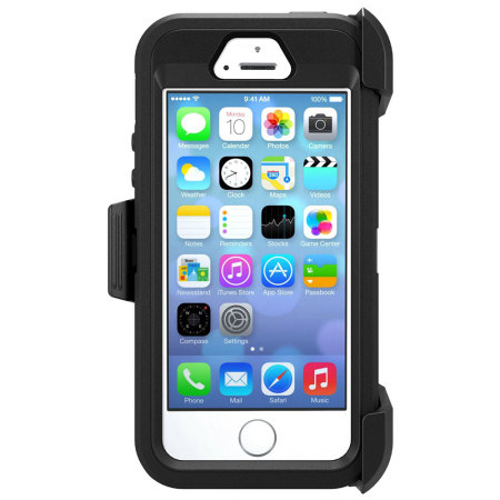 OtterBox Defender Series iPhone SE Case - Black 4754a88ba7f7