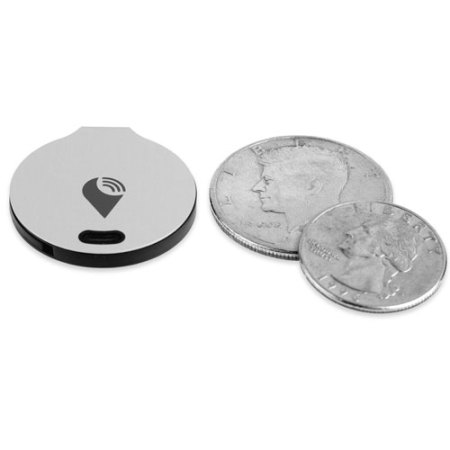 TrackR Bravo Phone and Valuables Bluetooth Locator - Silver