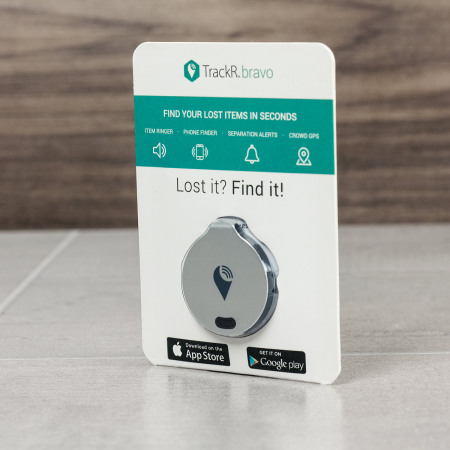 powerful processor, the trackr bravo phone and valuables bluetooth locator silver may