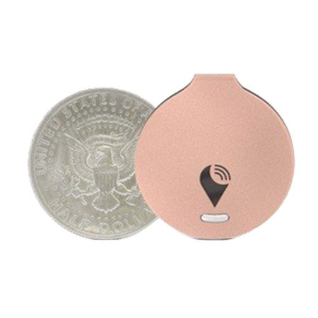 TrackR Bravo Phone and Valuables Bluetooth Locator - Rose Gold