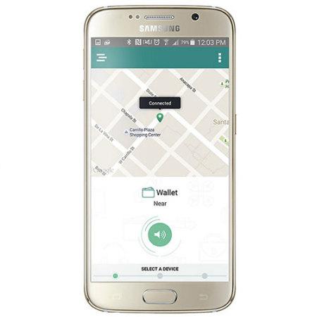 trackr bravo phone and valuables bluetooth locator black
