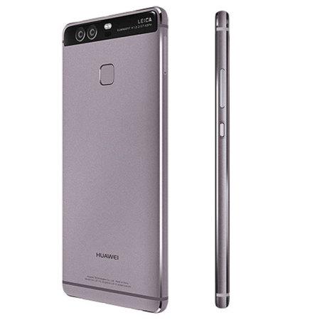 huawei p9 grey. sim free huawei p9 unlocked - 32gb titanium grey u