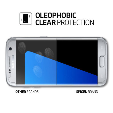 this spigen curved crystal samsung galaxy s7 screen protector mobile always