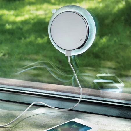 XD Design Port Window Solar Charger Universal Power Bank - 1,000mAh
