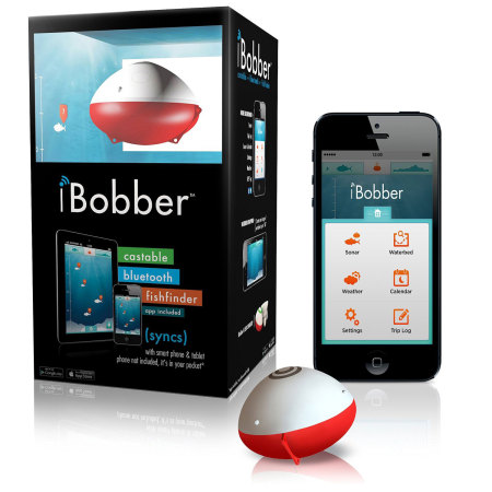 iBobber Bluetooth Castable Bluetooth Fish Finder