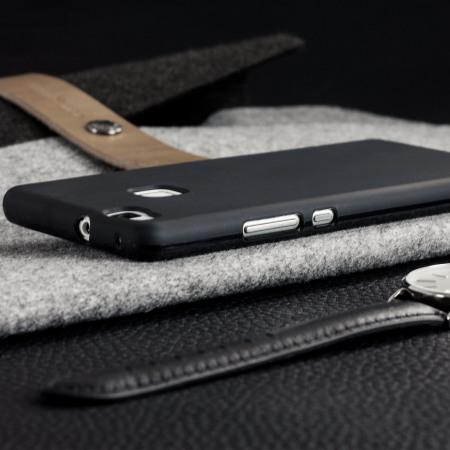 Olixar FlexiShield Huawei P9 Lite Gel Case - Solid Black