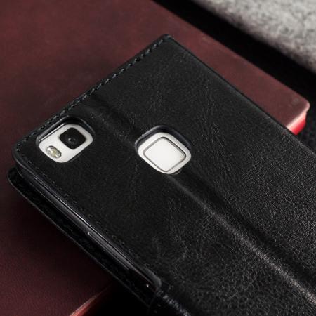 online store 8c632 dea50 Olixar Huawei P9 Lite Wallet Case - Black