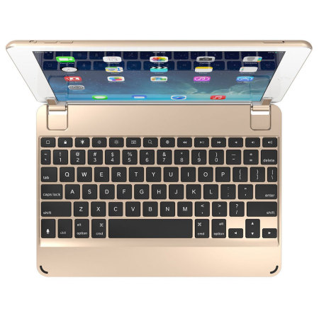 BrydgeAir Aluminium iPad 2017 / Pro 9.7 / Air 2 / Air Keyboard - Gold