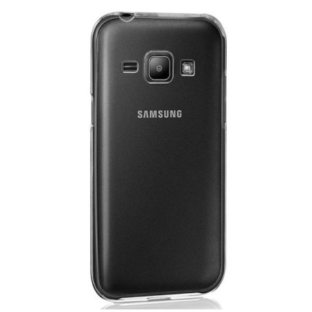 huge discount 871e1 2090e Official Samsung Galaxy J1 2016 Protective Cover Case - Clear