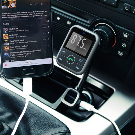 promate carmate 6 wireless fm transmitter hands free car kit