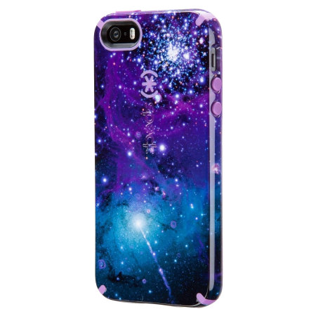 Speck Candyshell Inked Iphone Se Case Galaxy Purple
