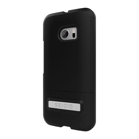 seidio surface htc 10 case metal kickstand black