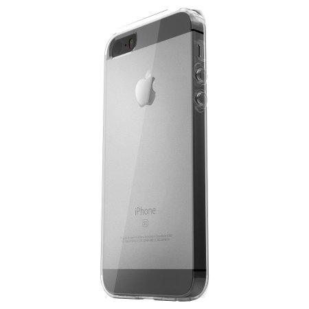 Otterbox Clear Skin Bundle iPhone SE Gel Case & Screen
