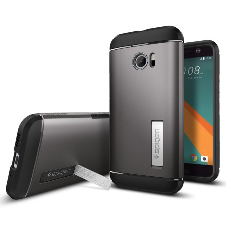 Spigen Slim Armor HTC 10 Case - Gunmetal Grey