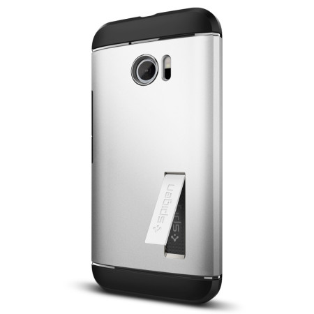 cheap for discount 635ae 0a1d5 Spigen Slim Armor HTC 10 Case - Satin Silver